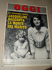 OGGI=1964/50=JACKIE KENNEDY=SOLARO TRIPLEX=ORNELLA VANONI=MANLIO BROSIO=OSTIA=