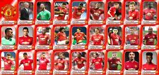 Manchester United Football Squad trading cards 2017-18