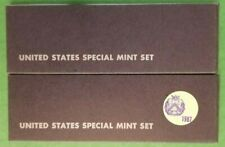 1966 & 1967 United States Special Mint Set US Coins SMS * Free Shipping to USA *