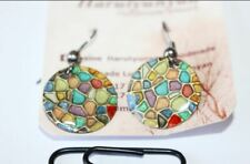 from Armenia Circle Armenian Earrings Handmade Art