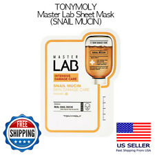 Tonymoly Master Lab Sheet Mask (Snail Mucin) 3pcs