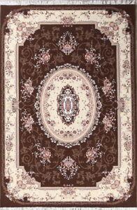 Floral Traditional Medallion Oriental Area Rug Acrylic Carpet Home Design 7x10