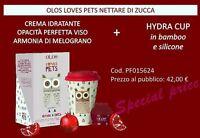 OLOS ZUCCA CREMA VISO OPACITà PERFETTA 50ml +TAZZA LOVES PETS limited edition