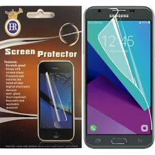 Samsung Galaxy Express Prime 2 Clear LCD Screen Protector Guard +Clean