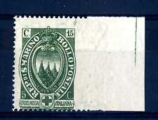 SAN MARINO - 1923 - Pro Croce Rossa Italiana - non dentellato a destra
