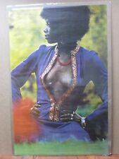 Love in Blue Vintage Poster Hot girl black is beautiful 1972 Inv#1497