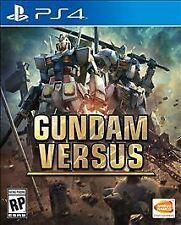 Gundam Versus VS (Sony PlayStation 4 PS4, 2017) Brand New Factory Sealed