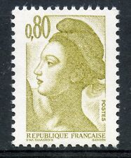 STAMP / TIMBRE FRANCE NEUF N° 2241a ** TYPE LIBERTE 1 bande phosphore à gauche