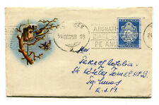 Romania 1959 singing bird at his house,nice &rare liliput stationery cover