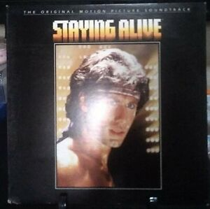 STAYING ALIVE OST GateFold Album Released 1983 Vinyl Collection USA Press