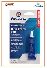 Permatex Medium Strength Thread Locker BLUE 6ml 24200 24206 Nut and Bolt Locker