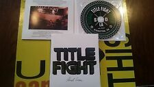 TITLE FIGHT - Floral Green Hardcore Punk CD Sideonedummy