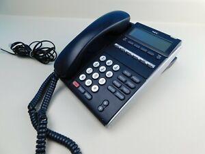 NEC DT300 Series Phone DLE(6DE)1-(BK) Corded Business Telephone Multi Line B11