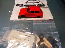 Renault 5 Turbo 2 PERFECT PREPAINTED red metallic(!) 1/43 Kit by JPS