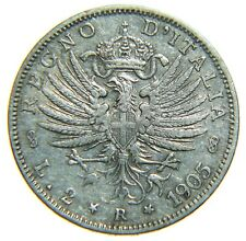 [NC] VITTORIO EMANUELE III - SAVOIA -  2 LIRE 1905 AQUILA ARALDICA (nc2783)