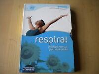 Respira! I migliori esercizi per la tua salute Riley Lee Libro + DVD come nuovo