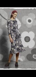 Gudrun Sjöden Organic Cotton / Modal Blomster Dress Size M