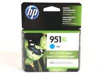 NEW Genuine HP 951XL Printer Ink Cartridge Cyan (CN046AN) OEM EXP 2019