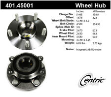 Axle Bearing and Hub Assembly fits 2017-2019 Toyota Yaris iA  CENTRIC PARTS