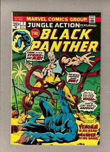 "JUNGLE ACTION #7_NOV 1973_NM MINUS_BLACK PANTHER_""VENOMM IS HIS NAME""!"