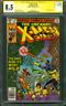 Uncanny X Men 128 CGC SS 8.5 George Perez Signed Wolverine vs Proteus 1979 WOW