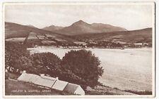 Ayrshire; Isle of Arran, Lamlash & Goatfell PPC By Valentines, Unposted