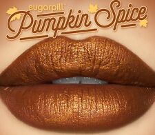 AUTHENTIC Sugarpill PUMPKIN SPICE Matte Liquid Lipstick Ltd Ed BNIB