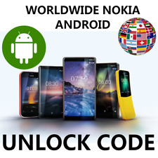 WORLDWIDE UNLOCK NOKIA ANDROID ALL NETWORKS GREECE GERMANY TURKEY BELGIUM CODE