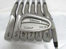 Used Titleist 704.CB Forged Iron Set 4-P R300 Regular Flex Steel Shafts