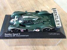 Bentley Speed 8 4 ème des 12 heure de Sebring 2003 1/43 Minichamps