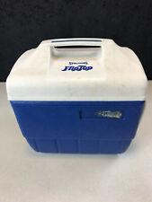 vintage Spalding Flip Top Blue Cooler White Top used