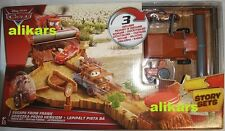 ESCAPE FROM the FRANK 3 autos McQueen Tractor The Combine Story Sets Disney Cars