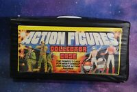 26 VINTAGE Star Wars ACTION FIGURES LOT VINYL COLLECTORS CASE KENNER figure