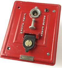 Vintage Fire Alarm Box Station 228 Detroit Autocall Co Shelby OH, antique
