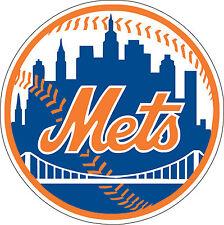 "New York Mets MLB Baseball sticker, wall decor, Large vinyl decal, 9.5""x 9.5"""