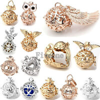 1X Cage Harmony Chime Sounds Angel Caller Ball Copper Pendant for Necklace