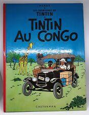 TINTIN AU CONGO HERGE CASTERMAN réédition 1974