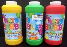 PARTY BUBBLES BUBBLE SOAP WITH WAND - LARGE 16oz. BOTTLE