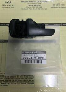 OEM Genuine Nissan Skyline GTR R32 LH Left Hand Interior Door Handle 80671-01U00