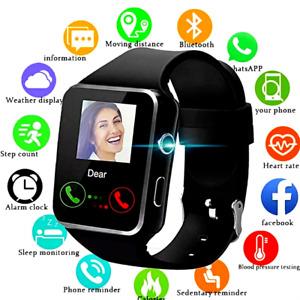 Reloj Inteligente compatible PARA iPHONE ANDROID DE MUJER HOMBRE Smart Watch ✔✔✔