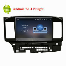 "10.2""  Android 7.1.1 Nougat Car Stereo Radio for 2014 up Mitsubishi Lancer EVO X"