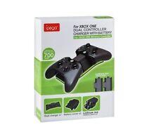 Ipega Dual muelle de carga Estación Cargador con 2 X Batería Recargable Xbox One