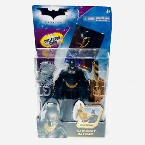 2007 Saw Shot BATMAN The Dark Knight Mattel Action Figure NIP