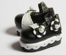 Black Lorita Shoes D33 fits Yo SD AI Dz BB Super Dollfie 1/6 BJD