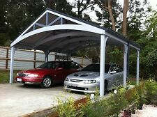 Double Carports - Attractive, Timber - Complete Kits!
