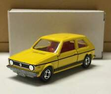 Super Rare Tomica Volkswagen Golf GLE blue box foreign car series from JAPAN