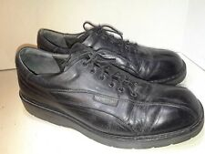 Mephisto Black Leather Sneakers Laces Mens Size 9.5