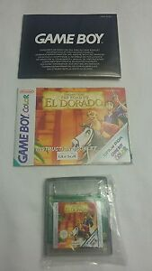 Nintendo gameboy colour Gold and glory-The road to El Dorado* FREE SHIPPING *