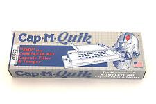 """Cap m Quik size """"00"""" capsule filler kit plus tamper 00 CapmQuik & 1000 capsules"""