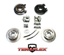 TeraFlex Rear Disc Brake Conversion Kit w/ Rotors for 1987-2006 Jeep TJ LJ YJ XJ